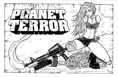 PLANET TERROR INKS by IsraelSivaArt