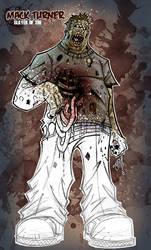 mack turner's zombie concept by IsraelSivaArt