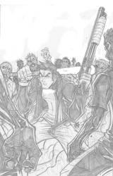 Mack Turner SOTD cover pencils by IsraelSivaArt