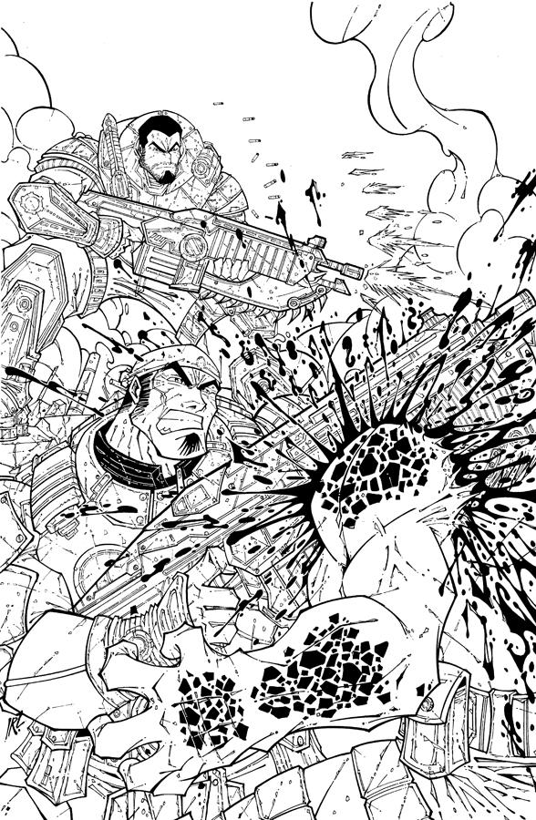 Gears Of Wars 2 Tribute By Israelsivaart On Deviantart