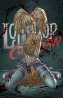 Lollipop Chainsaw Pinup by IsraelSivaArt