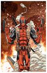 22 Deadpoolguns by IsraelSivaArt
