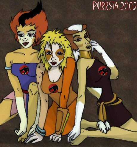 Female Thundercat on Thundercats  Catty Trio By  Purrsia On Deviantart