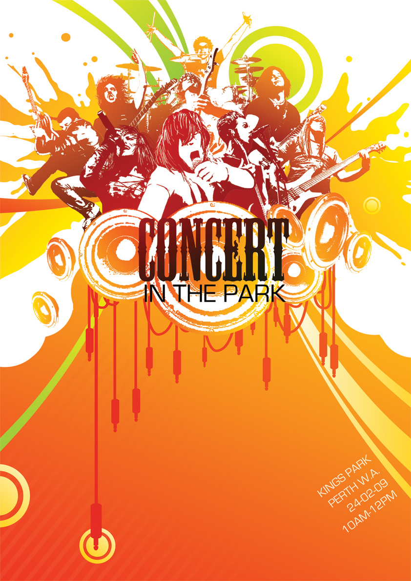 Concert in the Park Poster by CMJiaz