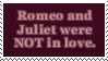 Romeo and Juliet Stamp by Kiza-San