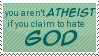 Atheist Stamp by Kiza-San