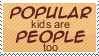 Popular Kids Stamp by Kiza-San