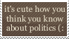 Politics Stamp by Kiza-San