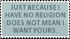 Religion Stamp by Kiza-San