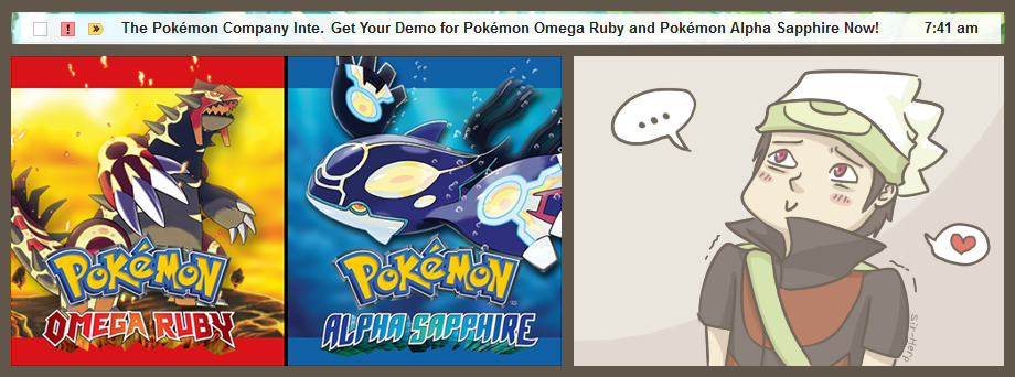 ORAS demo email by Sir-Herp