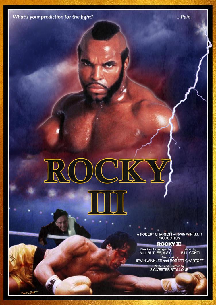 Rocky III by Frosdee