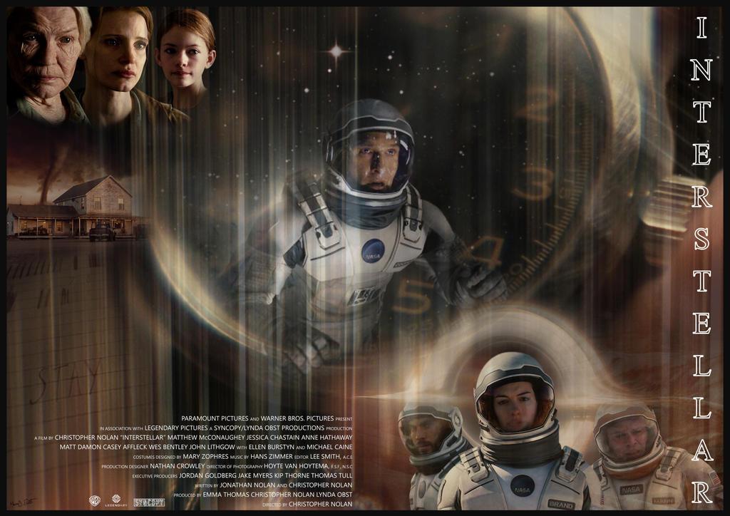 Interstellar (credits) by Frosdee