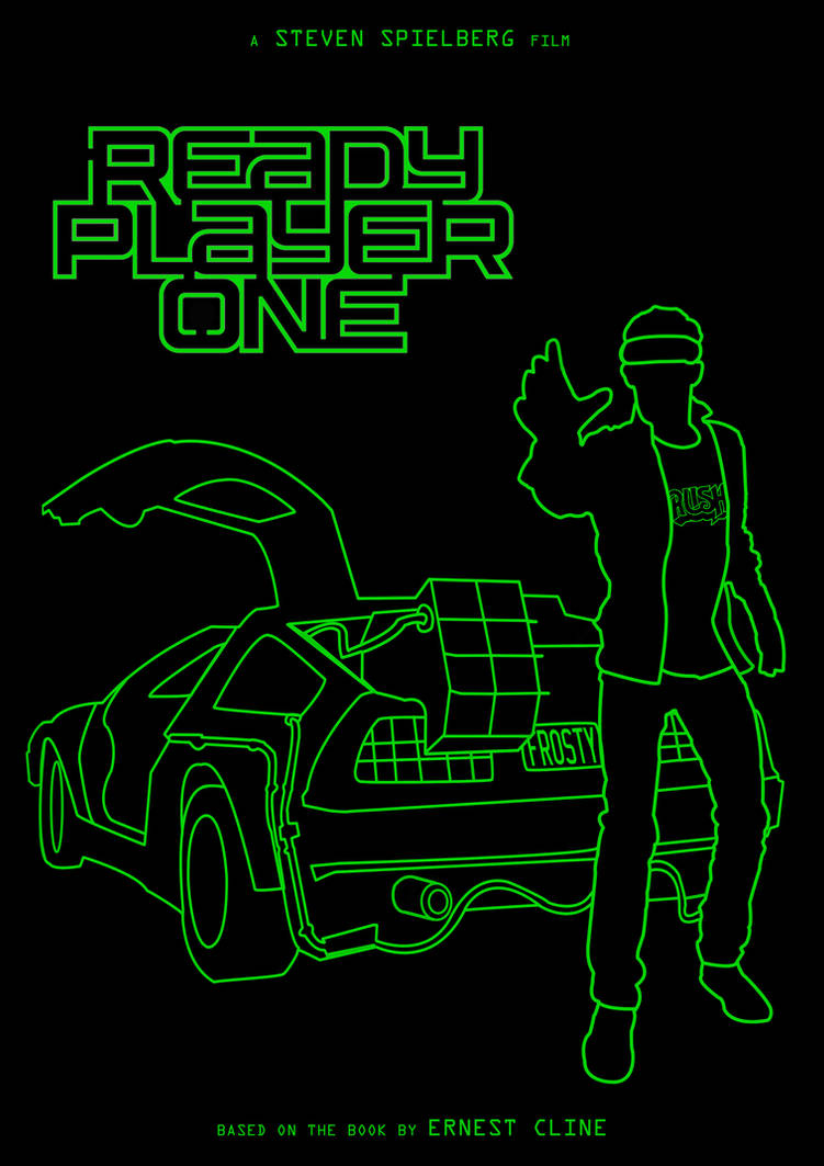 Ready Player One (Battlezone green)