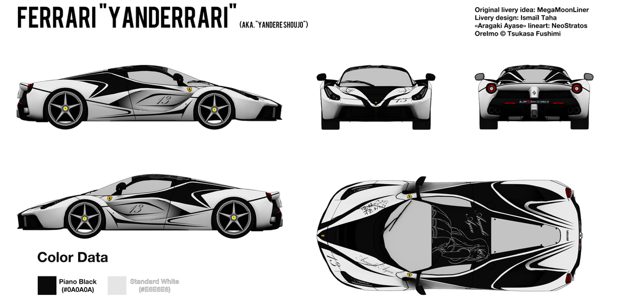 Solved blender npr car livery blueprint by bfg 9krc on deviantart ferrari yanderrari by bfg 9krc malvernweather Choice Image