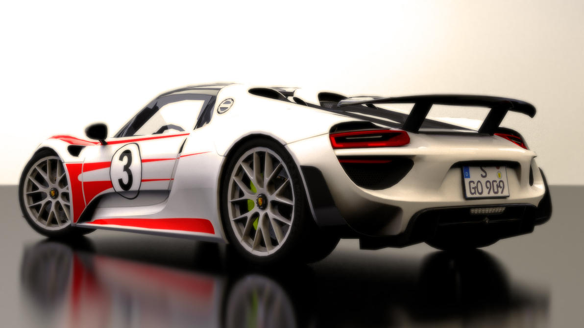 porsche 918 spyder weissach package by bfg 9krc on deviantart. Black Bedroom Furniture Sets. Home Design Ideas