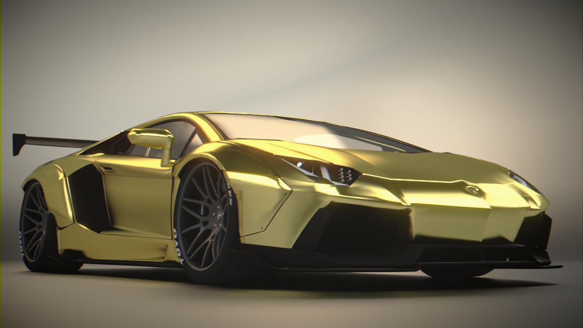Lamborghini Car 2017 Model >> Lamborghini Aventador LB Works by BFG-9KRC on DeviantArt