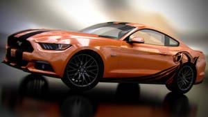 Ford Mustang GT '15 (Orange)
