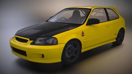 Honda Civic Type-R EK9 by BFG-9KRC