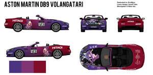 Aston Martin DB9 Volangatari (Blueprint)