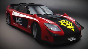 Mazda RX-7 VeilSide Zeonic Fortune RMR