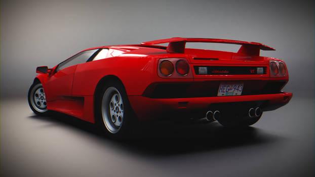Lamborghini Diablo VT (Rear)