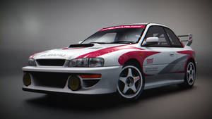 Subaru Impreza 22B STi (Race)