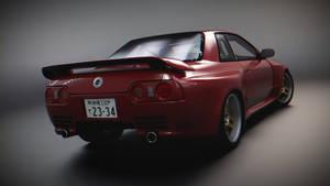 Nissan Skyline GT-R R32 VeilSide E-III (rear)