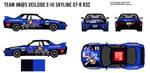 Team IM@S VeilSide E-III Skyline GT-R R32 by BFG-9KRC