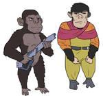 Bonobo and Chimp Uplifts