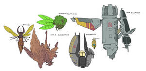 Starships of the Colony and Mandate of Utopia