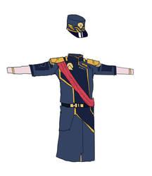 Mandate Of Utopia Captain Uniform