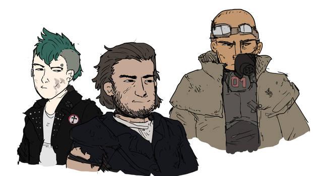 Fallout 1 Companions