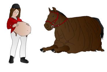 fat horse by FatAssClub