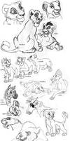 Tlk sketches by silver-dog