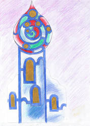 orientalischer Turm (fantasy) by Niirty