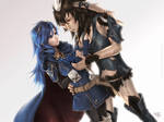 Lucina x Yarne - Commission