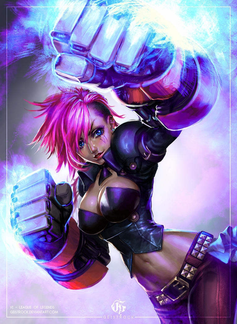 VI - League of Legends by GEISTROCK on DeviantArt
