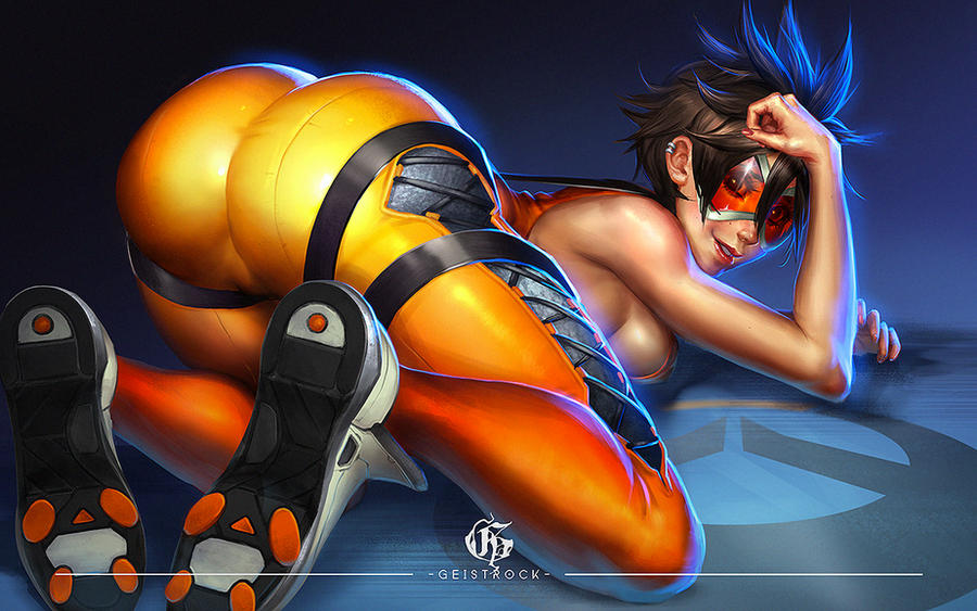 TRACER - OVERWATCH by GEISTROCK