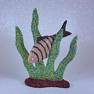 Fish in the seaweed. by dkart71