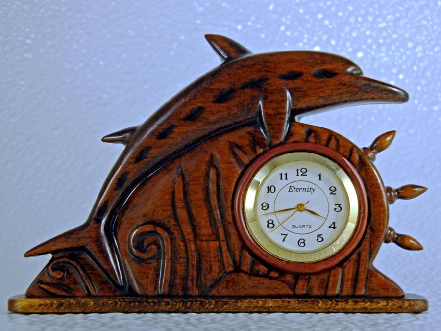 Dolphin Clock by dkart71