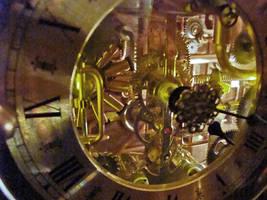 Steampunk Clock 1(5) by dkart71