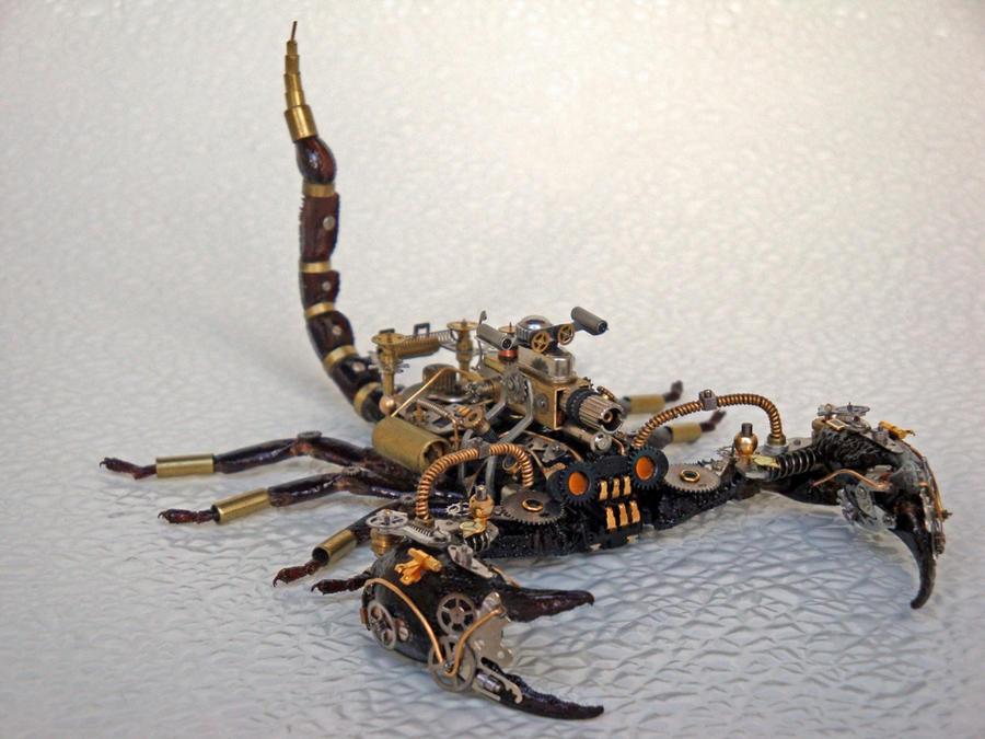Steampunk-Clockpunk Bugs 13 by dkart71