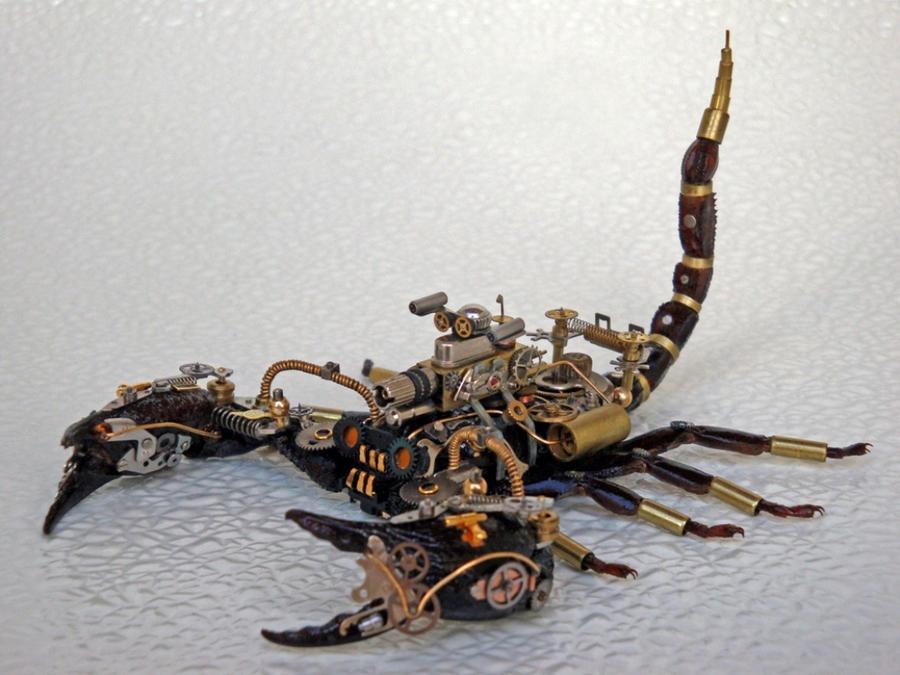 Steampunk-Clockpunk Bugs 15