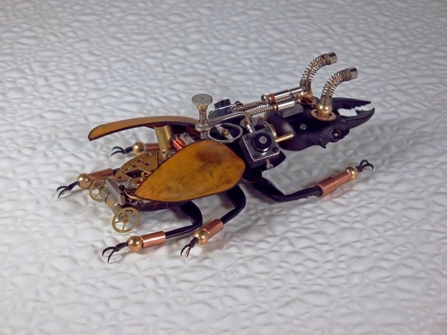 Steampunk-Clockpunk Bugs 26 by dkart71