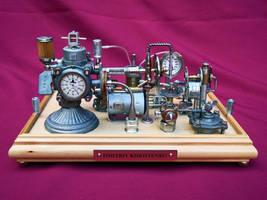 Dieselpunk Clock 1 4 by dkart71