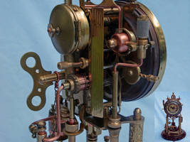 Steampunk Clock 2(1) by dkart71