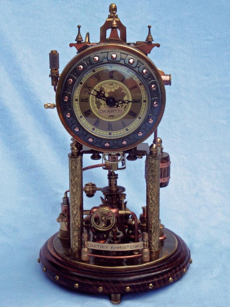 Steampunk Clock 2(2) by dkart71