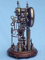 Steampunk Clock 2(3) by dkart71