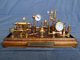 Steampunk Clock 3(1) by dkart71