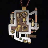 Steampunk Pendant 1.1 by dkart71